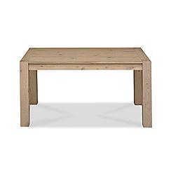 Debenhams - Oak 'Turin' fixed-top table