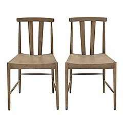 Willis & Gambier - Pair of oak 'Faro' dining chairs