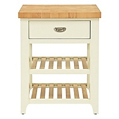 Willis & Gambier - Oak top 'Newquay' small butchers block