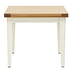 Willis & Gambier - Oak top 'Newquay' flip-top dining table