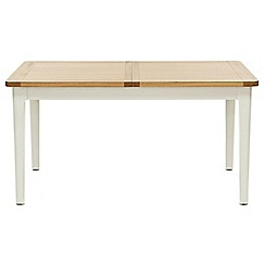 Willis & Gambier - Oak top 'Newquay' small extending dining table