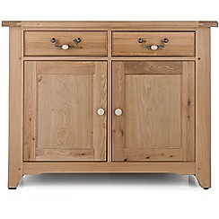 Willis & Gambier - Oak 'Worcester' small sideboard