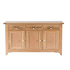 Willis & Gambier - Oak 'Worcester' large sideboard