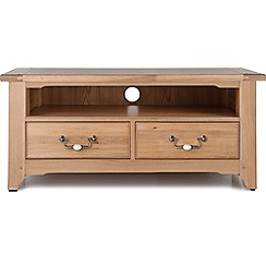 Willis & Gambier - Oak 'Worcester' TV unit