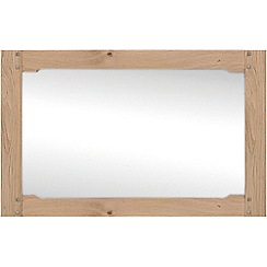 Willis & Gambier - Oak 'Worcester' wall mirror