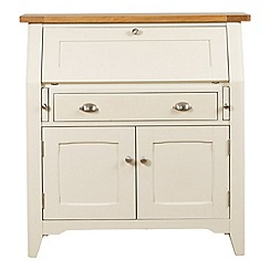 Debenhams - Oak and painted 'Wadebridge' bureau