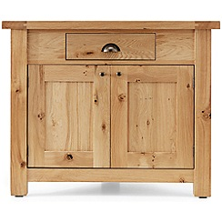 Willis & Gambier - Oak 'Normandy' corner cupboard