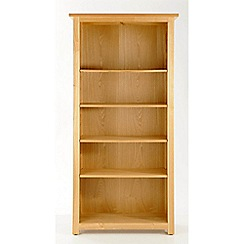 Willis & Gambier - Ash 'Denver' tall bookcase
