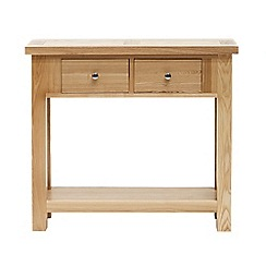 Willis & Gambier - Ash 'Denver' console table