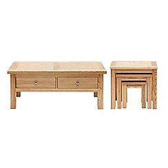 Willis & Gambier - Ash 'Denver' coffee and nest of tables set