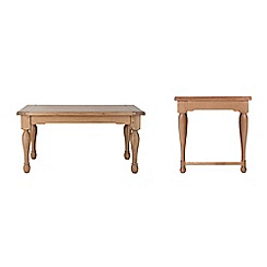 Willis & Gambier - Oak 'Worcester' coffee and side table set