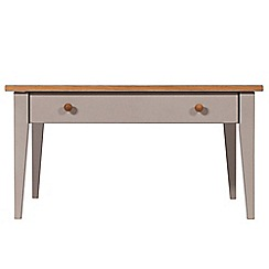 J by Jasper Conran - Oak and grey painted 'Farringdon' coffee table with single drawer