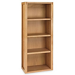 Debenhams - Oak 'Studio' small shelving unit