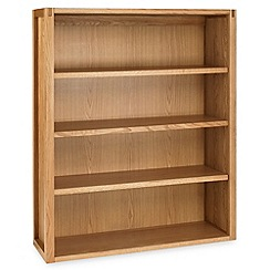 Debenhams - Oak 'Studio' large shelving unit