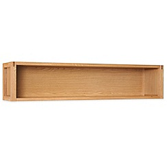 Debenhams - Oak 'Studio' bridging shelf