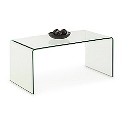 Debenhams - Glass 'Amalfi' coffee table