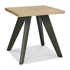Debenhams - Oak 'Wayney' side table