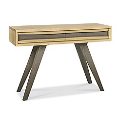 Debenhams - Oak 'Wayney' console table with drawers