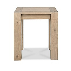Debenhams - Oak 'Turin' side table