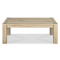 Debenhams - Oak 'Turin' coffee table