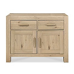 Debenhams - Oak 'Turin' narrow sideboard