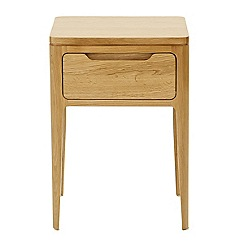 RJR.John Rocha - Oak 'Efni' light brown side table