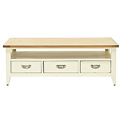 Willis & Gambier - Oak top 'Newquay' coffee table