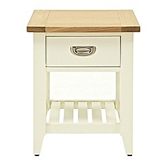 Willis & Gambier - Oak top 'Newquay' side table
