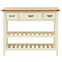 Willis & Gambier - Oak top 'Newquay' console table
