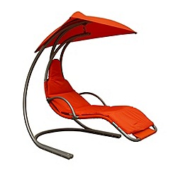 Debenhams - Red 'Helicopter' swing chair