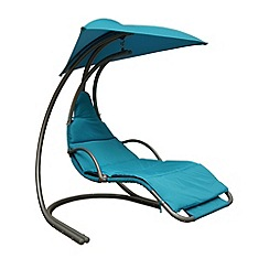 Debenhams - Blue 'Helicopter' swing chair