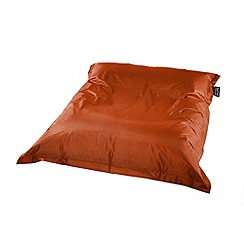 Debenhams - Tangerine orange outdoor bean bag