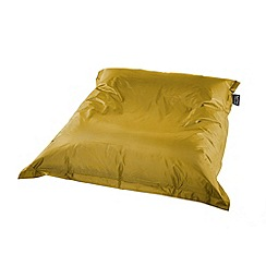 Debenhams - Yellow outdoor bean bag