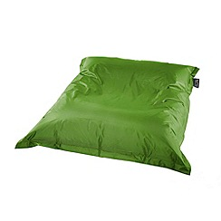 Debenhams - Apple green outdoor bean bag