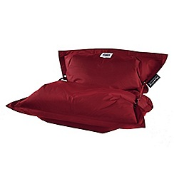Debenhams - Red outdoor bean bag with strapping