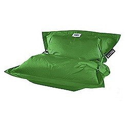 Debenhams - Apple green outdoor bean bag with strapping