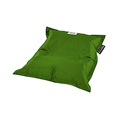 Debenhams - Small apple green outdoor bean bag