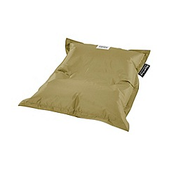 Debenhams - Small ivory outdoor bean bag