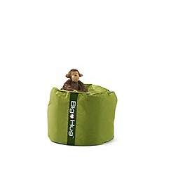 Debenhams - Olive green circular outdoor bean bag