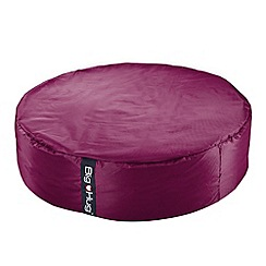 Debenhams - Large cerise pink circular outdoor bean bag
