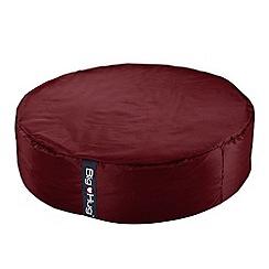 Debenhams - Large red circular outdoor bean bag