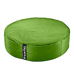 Debenhams - Large apple green circular outdoor bean bag