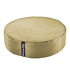 Debenhams - Large ivory circular outdoor bean bag