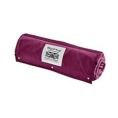 Debenhams - Cerise pink outdoor rug