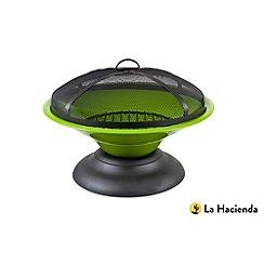 La Hacienda - Moda green enamelled firepit