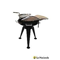 La Hacienda - Cordoba steel firepit with two grills