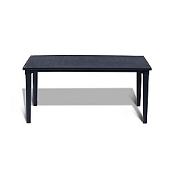 Debenhams - Black 'Futura' dining table