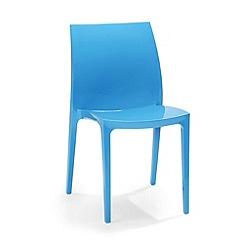 Debenhams - Pair of blue 'Sento' chairs
