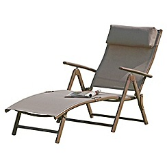 Debenhams - Brown 'Havana' sun lounger