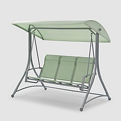 Debenhams - Green 'Havana' 3-seater swing